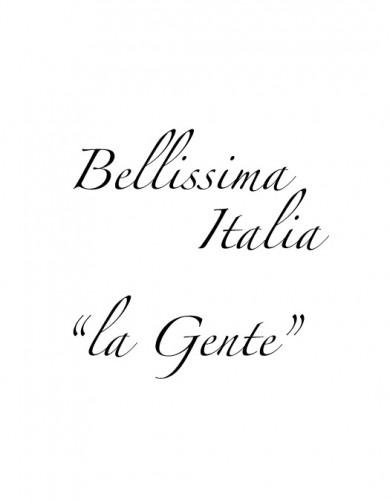 """bellissima-italia-gente"""""""